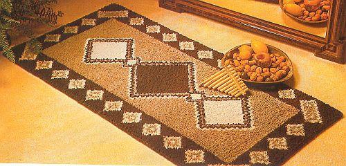 Knüpfen  Teppiche aus Schurwolle selber knüpfen