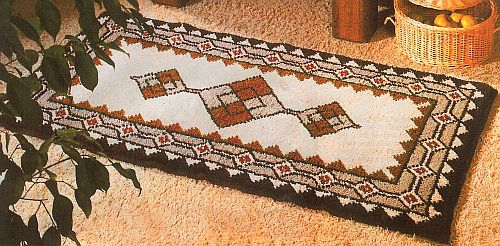 Teppich knüpfen  Knüpfen - Teppiche aus Schurwolle selber knüpfen, Knüpfteppiche ...