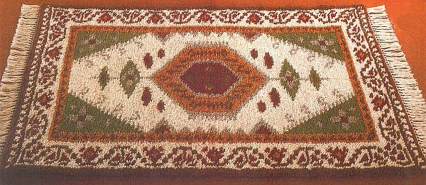 Teppiche aus Schurwolle